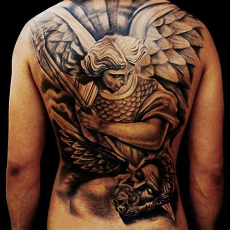 religious back tattoos for men the gallery for gt american war paint meanings