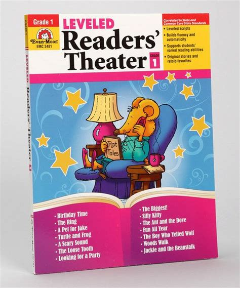 printable leveled readers for first grade 1st grade leveled readers theater paperback