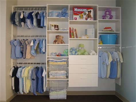 how to organize a nursery closet closet logic products baby
