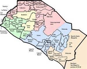 orange county california map with cities on tenterhooks what will redistricting do to our 47th