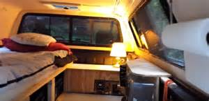 Truck Canopy Camper by Video How To Turn Your Pick Up Truck Into A Camper