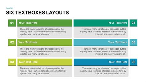 powerpoint layout text textboxes layouts powerpoint and keynote template