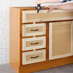 Replace Kitchen Cabinet Doors Fronts Replacement Kitchen Cabinet Door Fronts For A False Drawer Front Use Spacers And The Existing