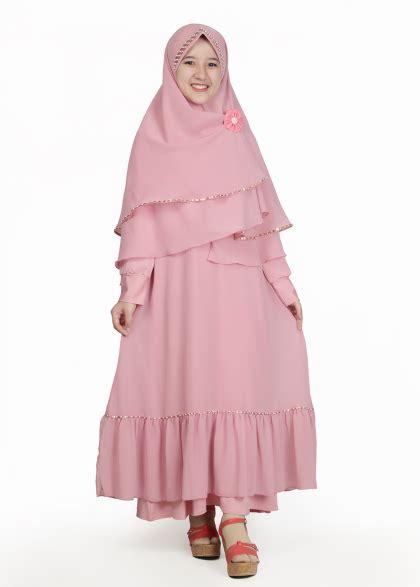 Stelan Sarity Pink By Z Shop baju untuk lebaran anak perempuan berkualitas
