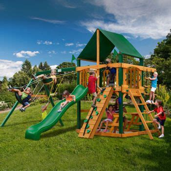 playground sets for backyards costco gorilla 174 playsets sahara adventure playset do it