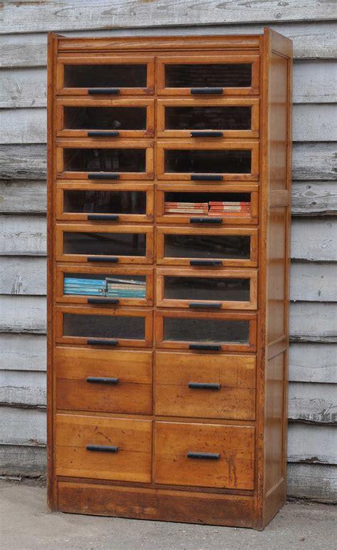 Shop Display Cabinets Uk by Vintage Oak Haberdashery Cabinet Shop Display Home Barn