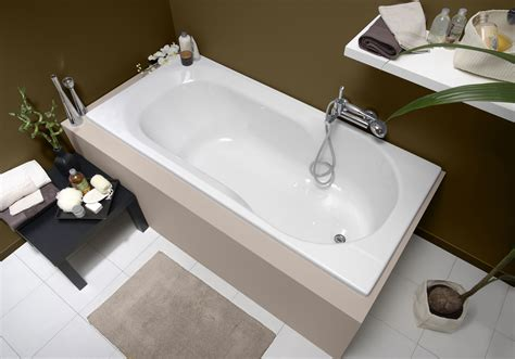 baignoire en toplax baignoire bain rectangulaire twinside
