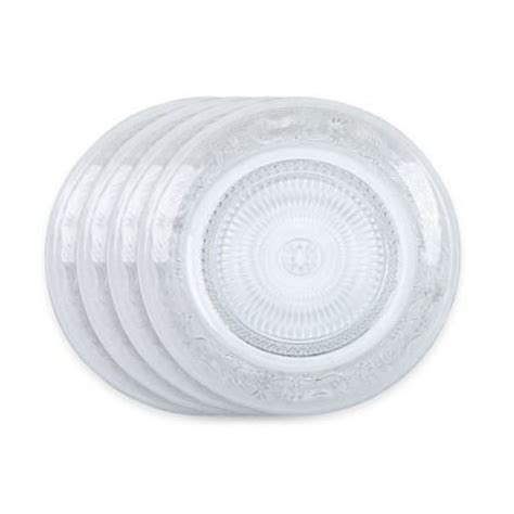 bed bath and beyond plates buy clear glass plates from bed bath beyond