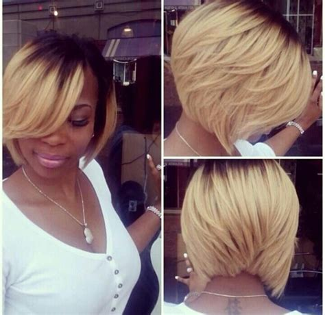 hairstyles blonde in front black in the back 20 trendy bob hairstyles for black women styles weekly