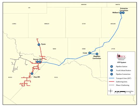 texas pipeline map oryx midstream seeks customers for texas pipeline