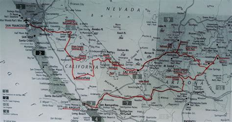 road travel map southwest usa road trip the ultimate itinerary world