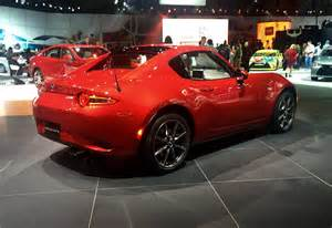 Signature Upholstery Photos 2017 Mazda Mx 5 Miata Rf Arrives Early Car Pro