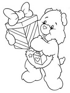 care bear coloring pages coloringsuite