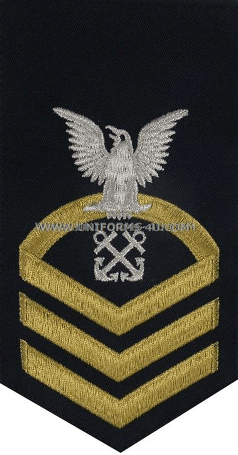 boatswain insignia uscg boatswain s mate bm rating badge