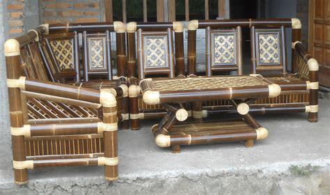 Kursi Dari Bambu kursi sudut kerajinan mebel bambu quot rosse bambu quot