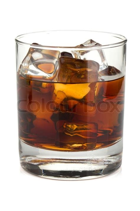 whiskey cocktail photography whiskey cola cocktail stock photo colourbox