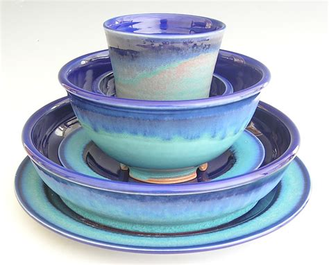 Pottery Dinnerware Sets Handmade - and s wedding mountain crafts dinnerware and