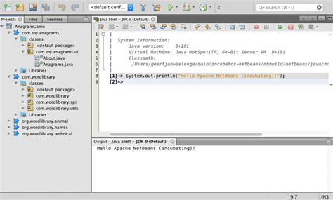 netbeans swing using apache netbeans incubating with jdk 9 jaxenter