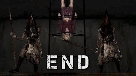 silent hill 2 ending silent hill 2 two pyramid heads rebirth ending walkthrough