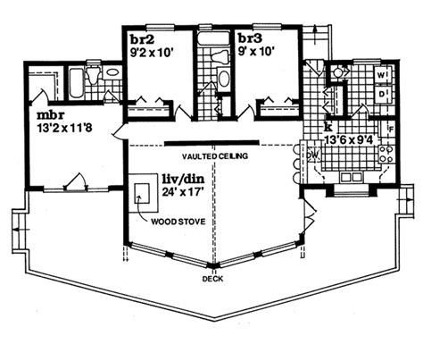 a frame home floor plans colgate rustic a frame home plan 062d 0049 house plans