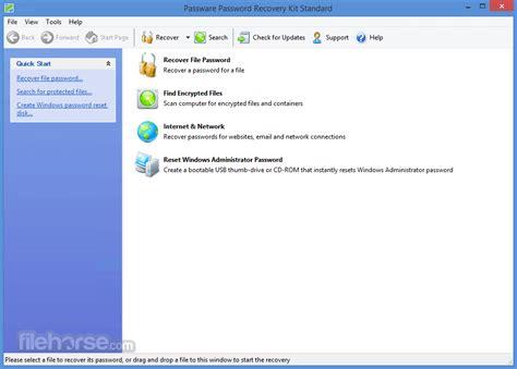 windows password reset kit 1 5 passware password recovery kit standard 2017 5 1 download