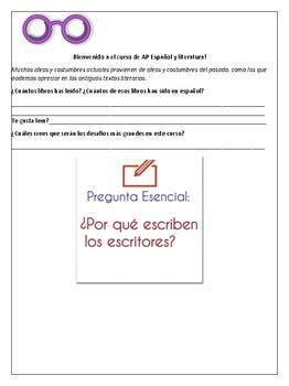azulejo ap spanish literature pdf workbook for ap spanish literature by mountain teacher tpt