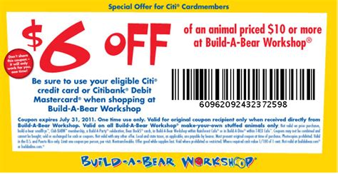 Build A Bear Gift Card Promo Code - build a bear workshop coupons 2017 2018 best cars reviews