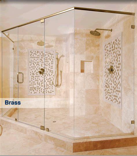 Frameless Shower Finishes And Colors Crlaurence Shower Doors