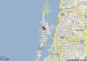 florida resorts map map of sandpearl resort clearwater