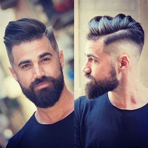 fading sideburns into beard beard fade cool faded beard styles