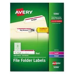 avery permanent file folder labels ave5066 72782050665