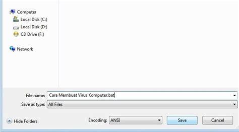 membuat virus lucu cara membuat virus komputer sederhana tekno liputan6 com