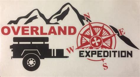 Overland Stickers