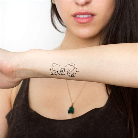pinterest temporary tattoo elephant temporary tattoo best friend tattoos