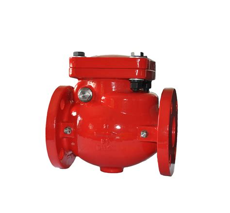 flanged swing check valve check valve swing ul fm 300 psi flanged fire red