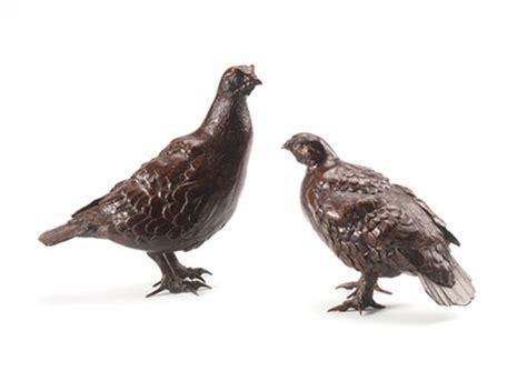 deckenle bronze ian bowles wildlife artist