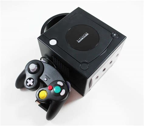 console gamecube nintendo gamecube black console discounted system