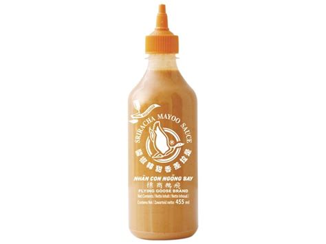sriracha mayo flying goose sriracha mayo sauce flying goose 455ml
