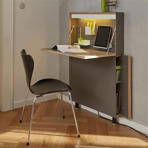Small Hideaway Desk Best 25 Small Desks Ideas On Pinterest Small White Desk Mini Office And Small Desk Space