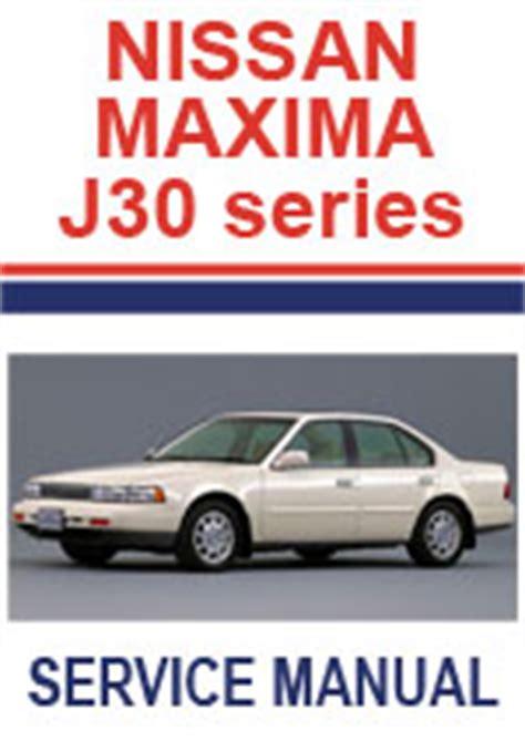 Nissan Maxima 1989 1994 Repair Manuals