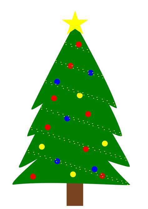 christmas tree image clipart christmas tree with lights