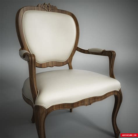 classic chair classic chair 004 3d model max obj fbx cgtrader com
