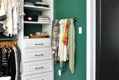 How To Store Scarves In A Closet by Scarf Storage Solutions For An Organized Closet