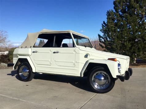 1974 volkswagen thing type 181 beautiful restored 1974 volkswagen vw thing type 181