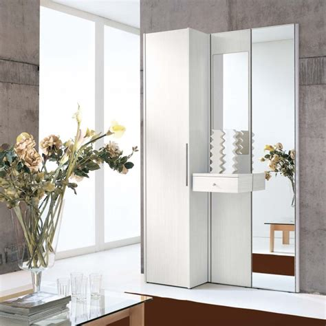 mobiletto ingresso moderno mobile ingresso legno bianco astor a09