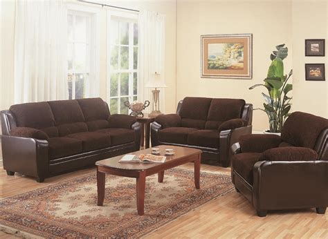 Simmons New Charmingdivan Oreohb Elegance 200 X 200 Set furniture outlet chocolate brown two tone sofa loveseat