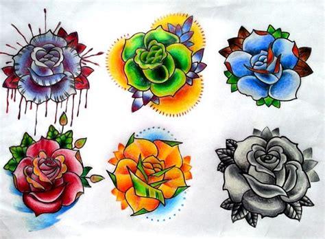 fiori school idee per tatuaggi school fiori e colorati