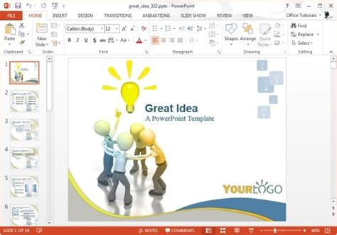 Best Animated Idea Presentation Templates For Powerpoint Great Powerpoint Exles