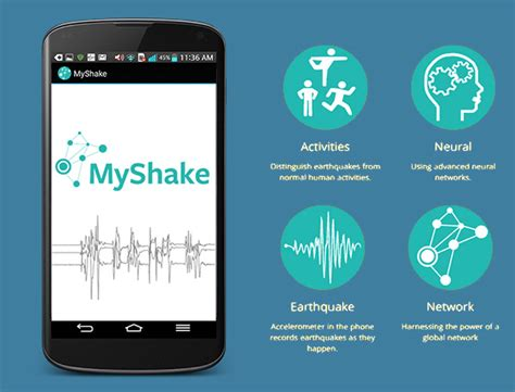 earthquake app the myshake app lets your android phone become an