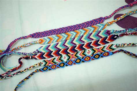 friendship bracelet colors i lace and ruffles diy friendship bracelets
